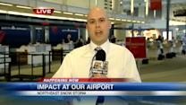 Many flights from CVG to Northeast canceled