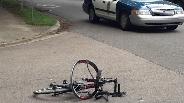 Bicyclist killed in Raleigh accident