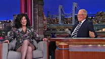 David Letterman - Cher on Sonny & Cher, the Beatles and Rolling Stones