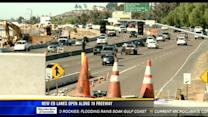 New eastbound lanes open along 78 freeway