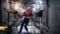 """Space Oddity"" music video created in space"
