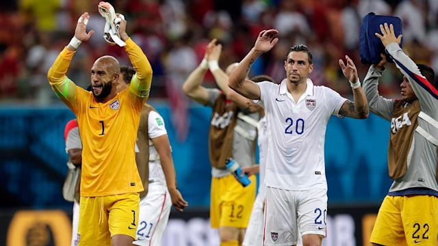 USA gives tremendous performance against Portugal