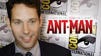 "Paul Rudd ""Ant Man"" Interview - Comic-Con 2014"