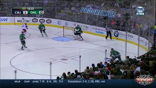 Columbus Blue Jackets at Dallas Stars - 04/09/2014
