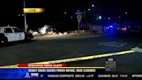 6AM UPDATE | FATAL CRASH CAUSES POWER OUTAGE IN LOGAN HEIGHTS