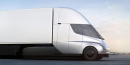 Seriously Quick Tesla Semi Smokes its Tires