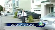 Suspended Sen. Yee makes court appearance