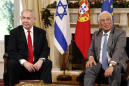 Lisbon excursion offers Netanyahu brief escape from troubles