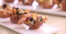 Best Bites: Crispy prosciutto cups with goat cheese and figs