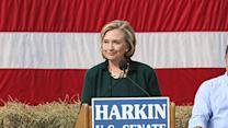 Hillary Clinton in Iowa Stirs 2016 Speculation