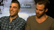 """Star Trek Into Darkness"" cast on behind-the-scenes fun"