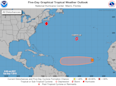 Hurricane Center monitors 3 Atlantic systems; Gabrielle expected to become hurricane