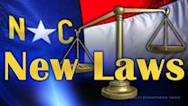 More than 40 new North Carolina laws begin Sunday