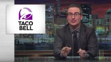 John Oliver ripped into a CEO who proudly compared his healthcare business to Taco Bell