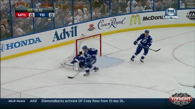 Montreal Canadiens at Tampa Bay Lightning - 04/18/2014