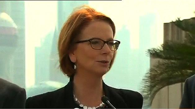Gillard pays tribute to Margaret Thatcher