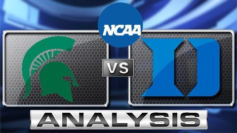 JR Reid Breaks Down Duke's 71-61 Win Over Michigan State in Sweet 16