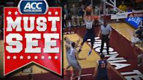 Virginia's Malcolm Brogdon Alley-Oop to Justin Anderson | ACC Must See Moment