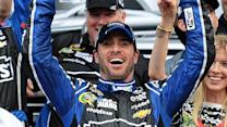 Jimmie Johnson makes early statement