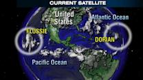 Dueling Tropical Storms Set to Hit East, West Coasts