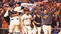Strange play pushes Giants to pennant