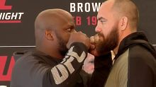 UFC Fight Night 105: Lewis vs. Browne Gate and Attendance from Canada