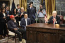 'Saturday Night Live' Sends Up Kanye West and President Trump's Bizarre Meeting