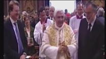 Pope at retreat after leaving Vatican
