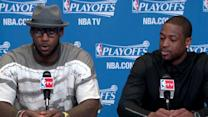 Postgame: James and Wade
