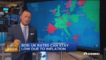 European markets close: UK rates 'can stay low'