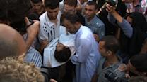 Children caught in deadly crossfire in Gaza