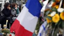 Paris Attacks: Hollande Pays Tribute to Victims