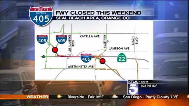 `Bridge Bash` 405 Freeway Closure to Begin Saturday