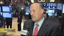 Cramer Answers Twitter Questions on Target, WWE, Bank of America