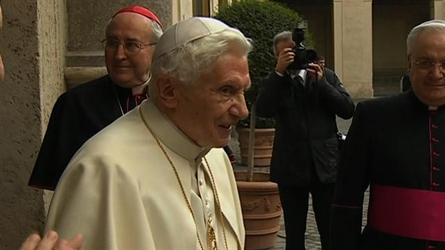 Retired Pope Benedict moves back to the Vatican