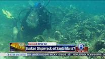 Archeologist believes he's found the sunken shipwreck of Santa Maria