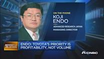 Toyota's priority is profitability, not volume: Pro