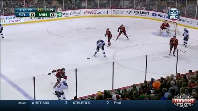 St. Louis Blues at Minnesota Wild - 03/09/2014