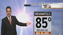 Wednesday's Forecast: Very warm, highs in the 80s