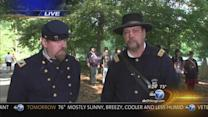 Civil War Encampment at Graue Mill