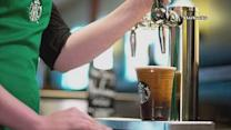 Starbucks serving 'Nitro Cold Brew' on tap