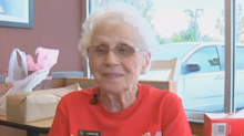 94-year-old McDonald's worker says her job is 'a reason to get up in the morning'