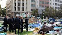 "Oakland police shut down ""Occupy"" protest"
