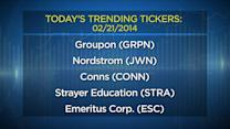 Today's Trending Ticker: Groupon