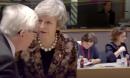 ¿De qué hablan May y Juncker?