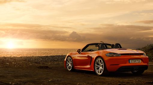 The New Porsche® 718 Boxster. For the Sport of It.