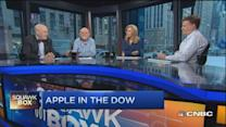 Two spits land Apple in Dow: David Blitzer
