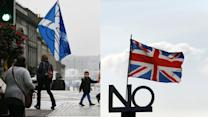 SCOTLAND VOTERS WEIGH IN ON INDEPENDENCE