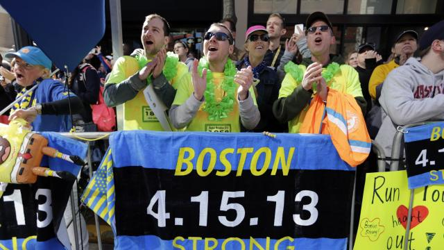 Marathoners Celebrate Easter With Tradition