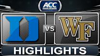 Duke vs Wake Forest | 2013 ACC Football Highlights
